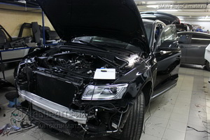 Eberspacher Hydronic на Audi Q5