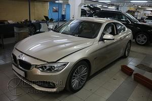 Eberspacher Hydronic Comfort на BMW 4er (F32)