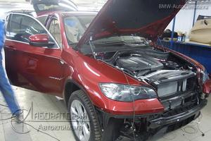 Webasto Thermo Top 5 на BMW X6 (E71)