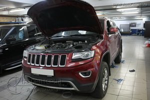 Eberspacher Hydronic на Jeep GrandCherokee