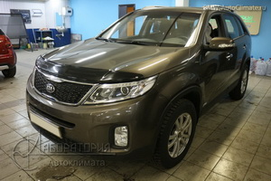 Webasto Thermo Top 5 на Kia Sorento