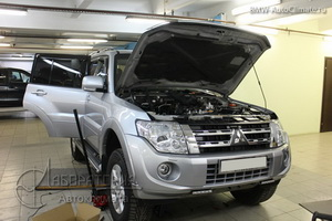Webasto Thermo Top 5 на Mitsubishi Pajero 4