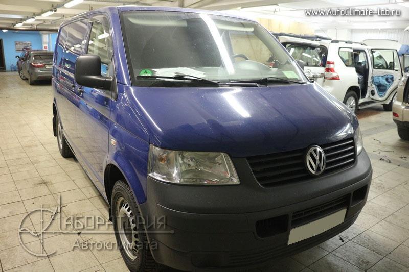 Webasto Thermo Top 5 на Volkswagen Multivan