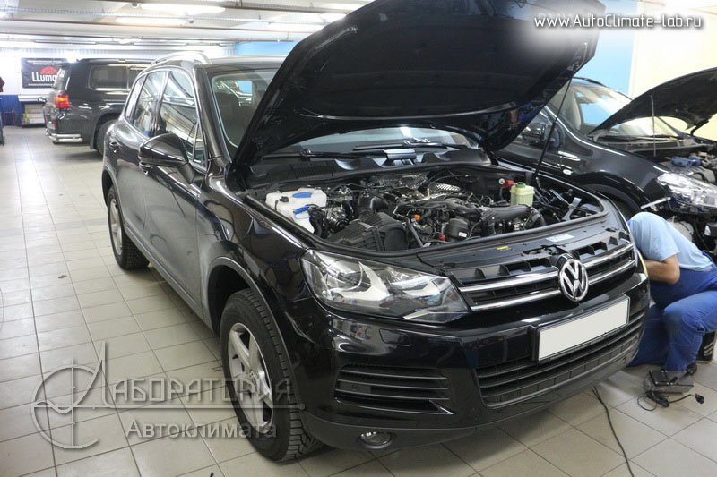 Eberspacher Hydronic на Volkswagen Touareg